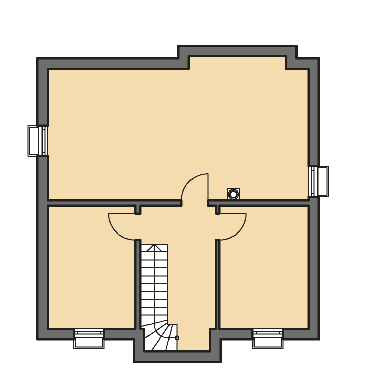 Einfamilienhäuser | Friesenhaus 145, Grundriss Keller
