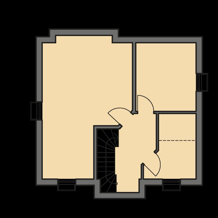 Einfamilienhäuser | Landhaus 124, Grundriss Keller