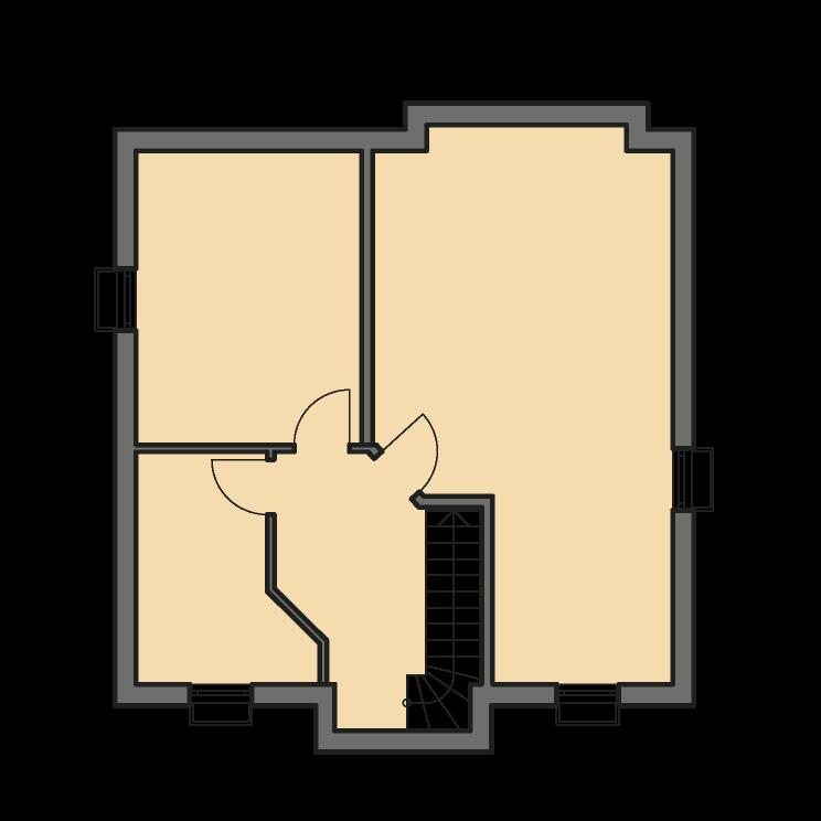 Einfamilienhäuser | Landhaus 142, Grundriss Keller