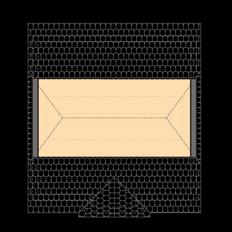 Einfamilienhäuser | Landhaus 142, Grundriss Spitzboden