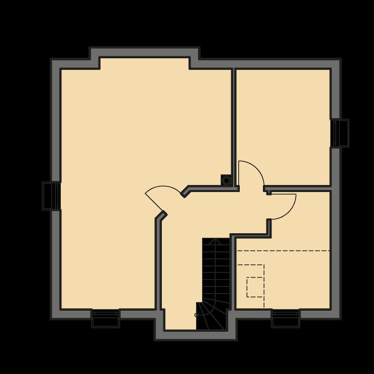 Einfamilienhäuser | Landhaus 156, Grundriss Keller