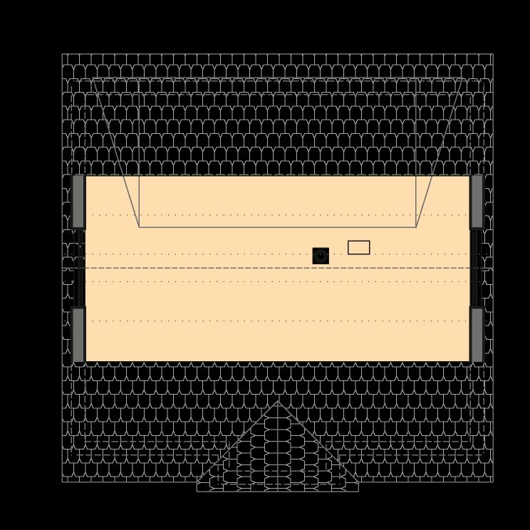 Einfamilienhäuser | Landhaus 156, Grundriss Spitzboden