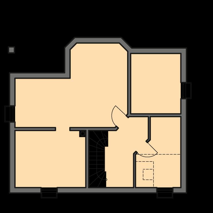 Einfamilienhäuser | Landhaus 161, Grundriss Keller