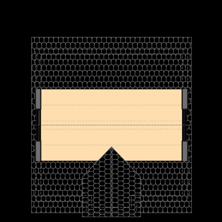 Einfamilienhäuser | Stadthaus 141, Grundriss Spitzboden