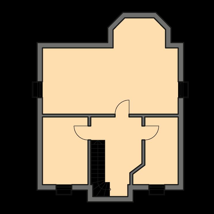 Einfamilienhäuser | Turmhaus 152, Grundriss Keller
