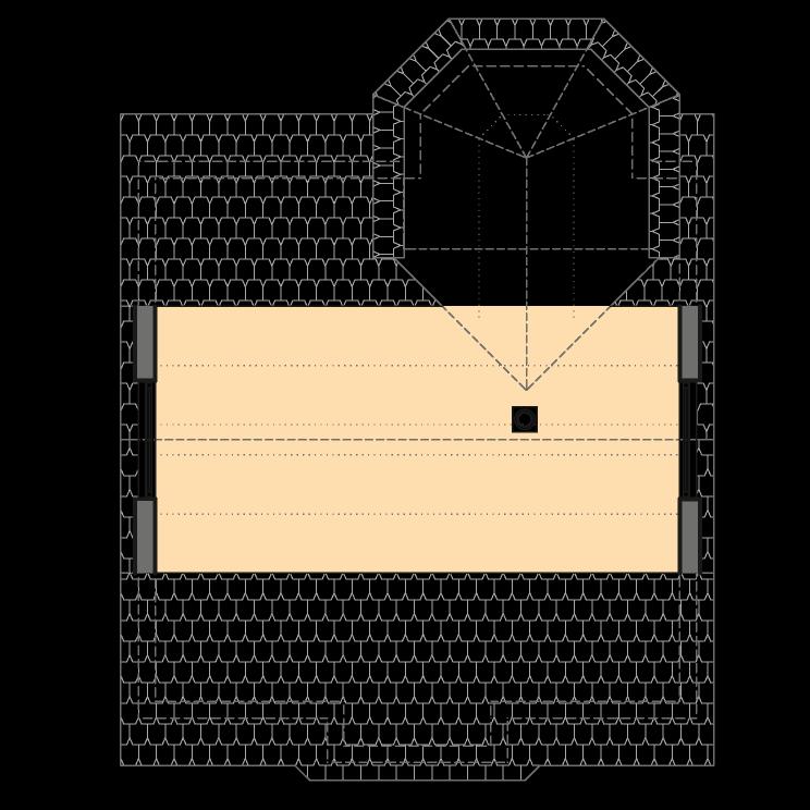 Einfamilienhäuser | Turmhaus 152, Grundriss Spitzboden