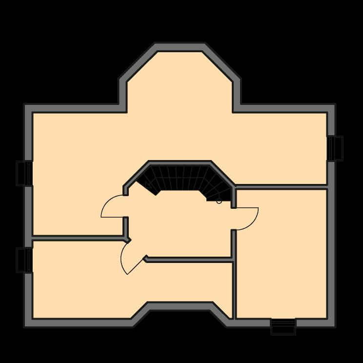 Einfamilienhäuser | Turmhaus 199, Grundriss Keller