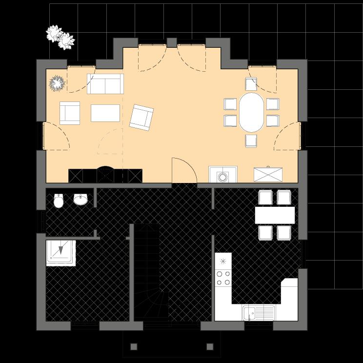 Stadtvilla Lugana: Mediterrane moderne Stadtvilla bauen, mit ...