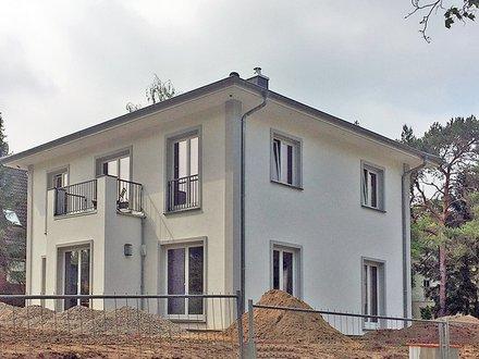 Stadtvillen | Erker mit Balkon im OG_Beleuchtung/Rollladensteuerung Smart Home_aufgedoppelte Hausecken_1581