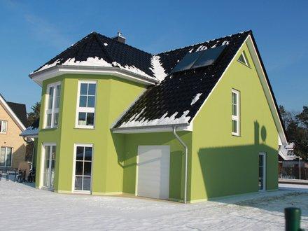 Einfamilienhäuser | Turmhaus 199, Rückseite Schrägansicht
