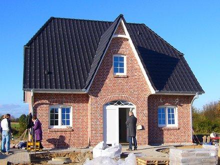 Einfamilienhäuser | Friesenhaus 145, Frontansicht