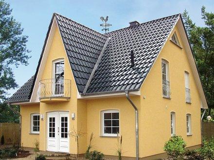 Einfamilienhäuser | Friesenhaus (Putzfassade), Eingangsbereich