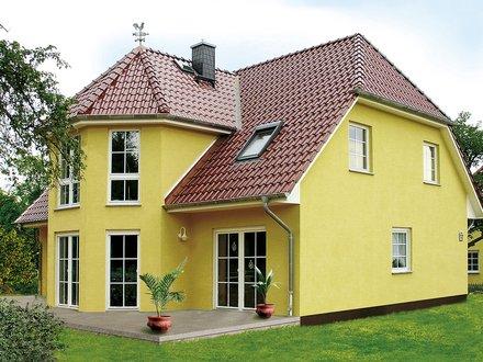 Einfamilienhäuser | Turmhaus 199 (Putzfassade), Gartenansicht