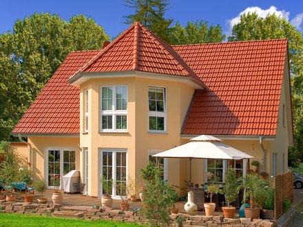Einfamilienhäuser | Turmhaus 199 (Putzfassade), Gartenansicht 2