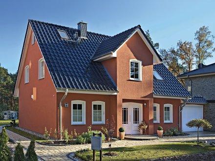 Einfamilienhäuser | Stadthaus 141 (Putzfassade), Hauseingang