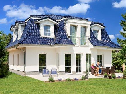 Exklusive Häuser | Haus Föhr 158 (Gartenansicht schräg)