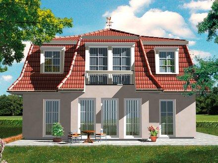 Exklusive Häuser | Haus Föhr 158 (3D Rückansicht)