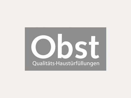 Roth Massivhaus Markenpartner | Logo: Obst Qualitäts-Haustürfüllungen