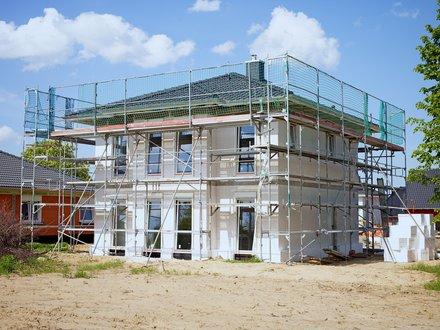 Roth Massivhaus | Villa Lugana (Stadtvillen) in der Bauphase