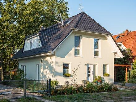 Einfamilienhäuser | Haus Stade, Schrägansicht von Straße