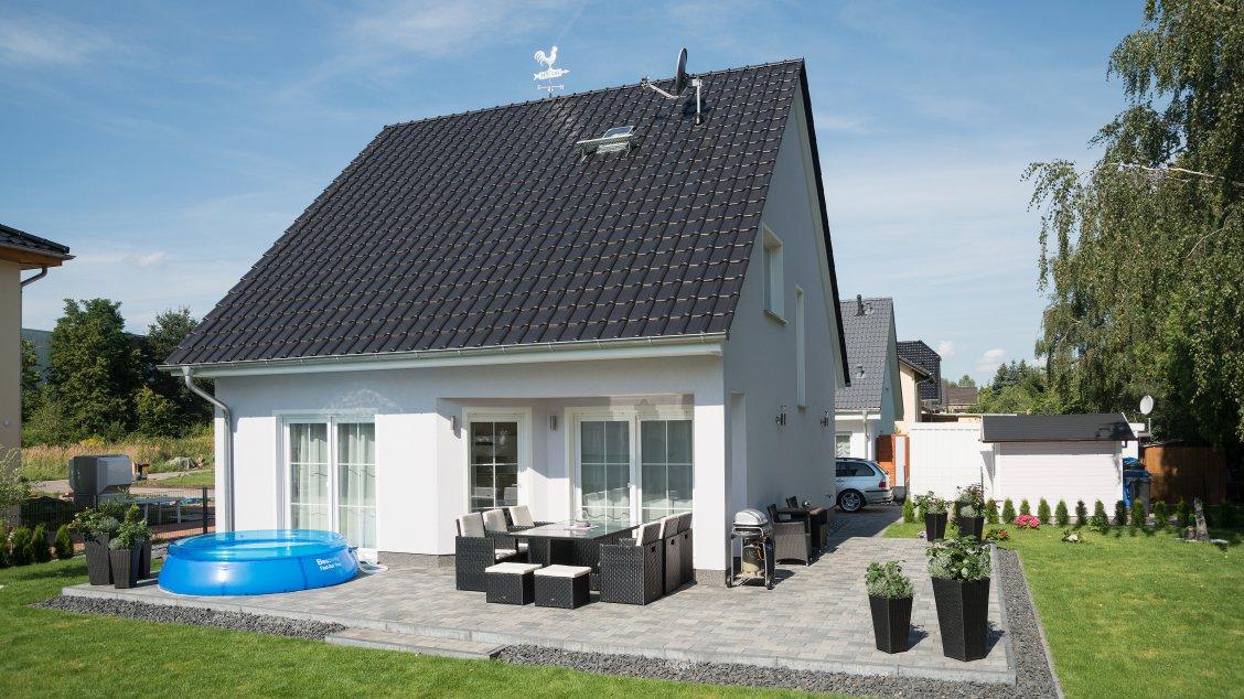 Einfamilienhäuser | Haus Wismar (Putzfassade), Terrasse