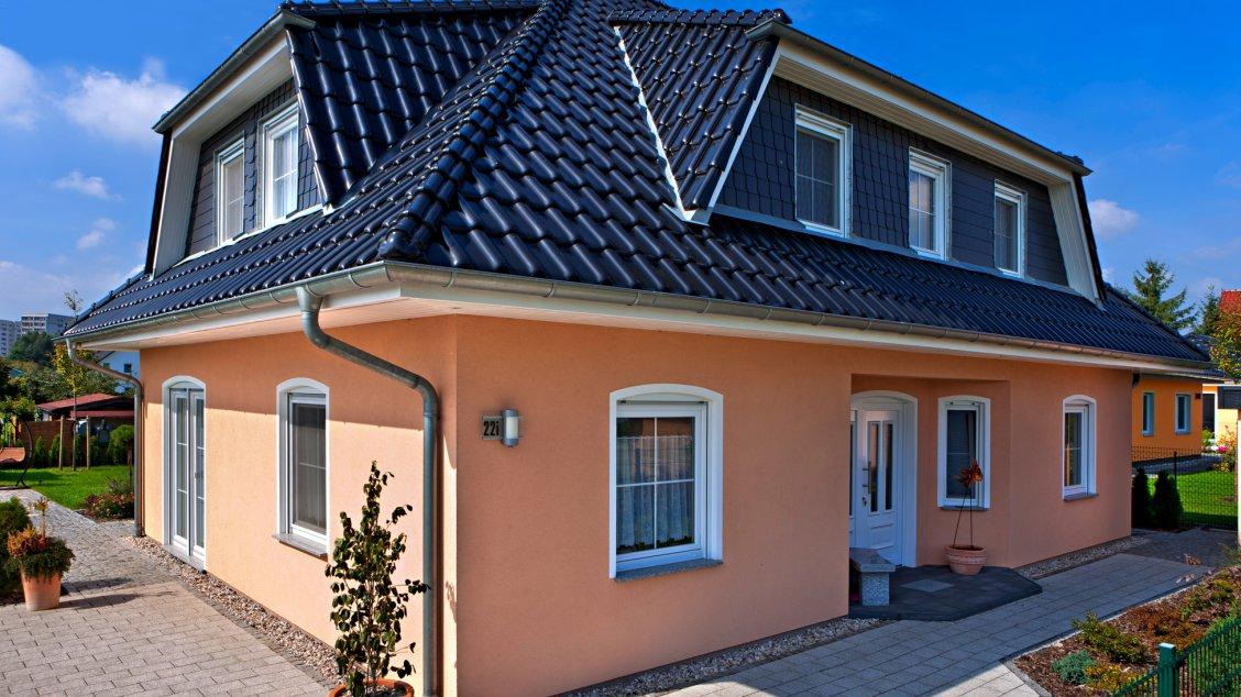 Einfamilienhäuser | Turmhaus 199 (Putzfassade), Hauseingang