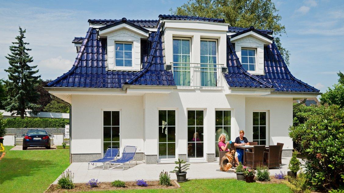 Exklusive Häuser | Haus Föhr 158 (Gartenansicht)