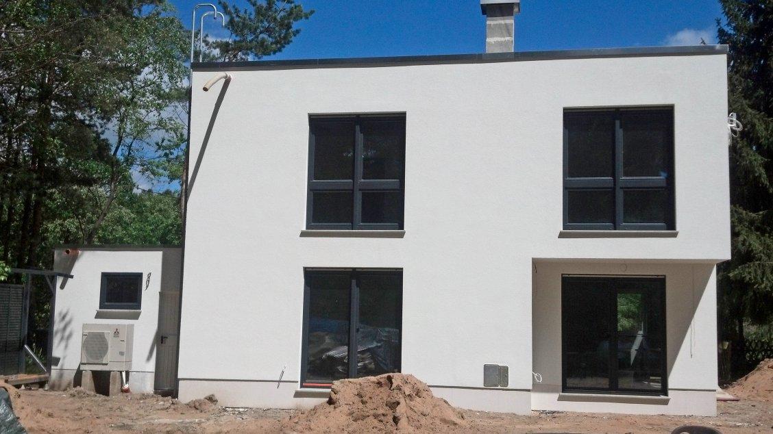 Moderne häuser cubatur 145 rückseite