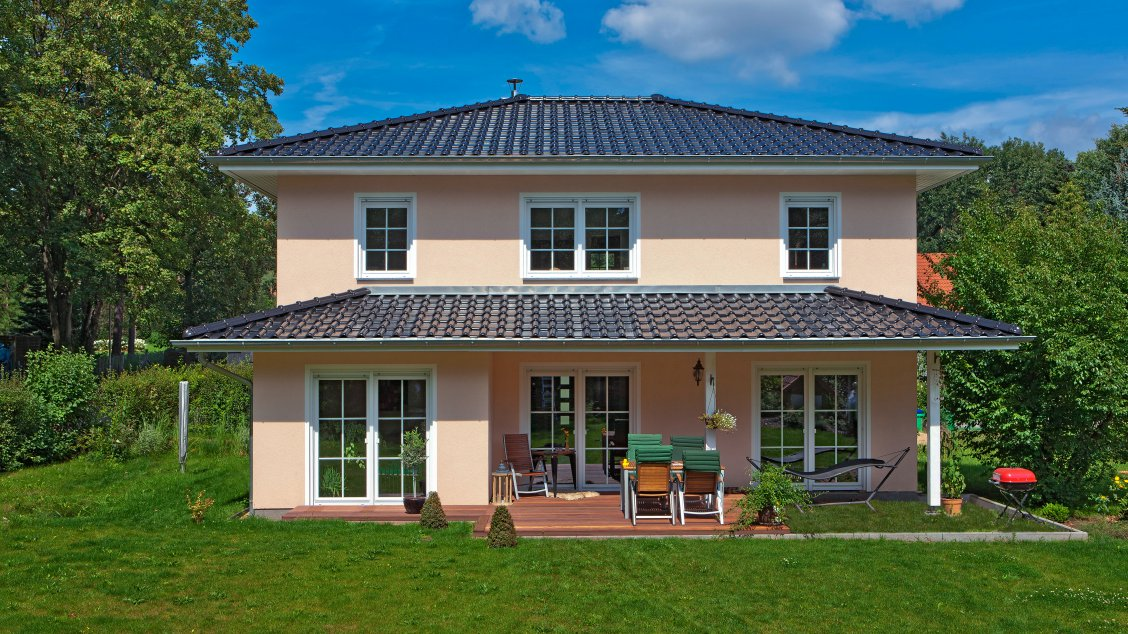 Fertighaus Villa Preis: Haus bauen vollgeschosse holzhaus alle ...