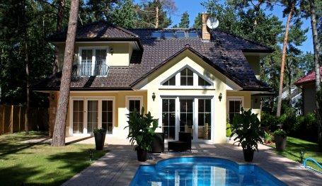 Fertighaus landhaus villa  Landhausvilla Kanada (Exklusive Häuser), Walmdach und große ...