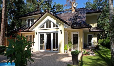 landhausvilla kanada exklusive h user walmdach und. Black Bedroom Furniture Sets. Home Design Ideas