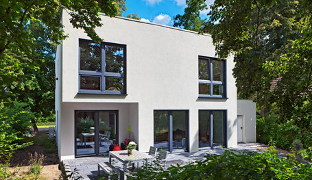 Moderne Massivhäuser cubatur carport mit abstellraum hausreferenz moderne häuser