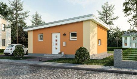 Turbo Minihaus Poel (Minimassiv-Häuser) individuell bauen | Roth-Massivhaus CS25