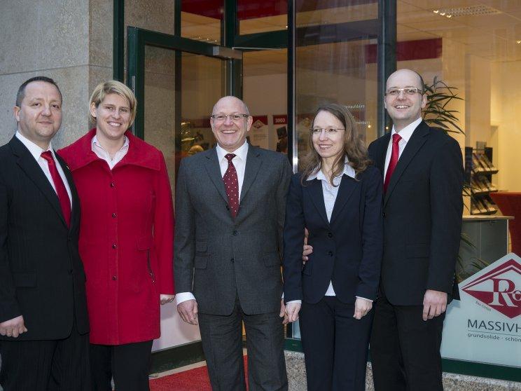 Roth | Eröffnung Kaiserdamm | Familie Roth