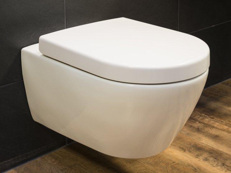 Roth | Standort: Kaiserdamm - Berlin, Ausstellung, Toilette hängend