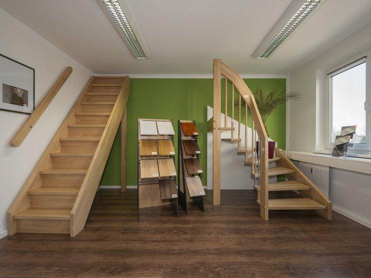 Roth Massivhaus | Standort: Zentrale Berlin-Marzahn, Ausstellungsräume: Treppen