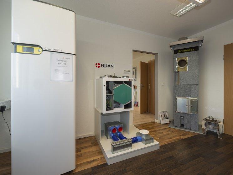 Roth Massivhaus | Standort: Zentrale Berlin-Marzahn, Ausstellungsräume: Wärmepumpe und Haustechnik