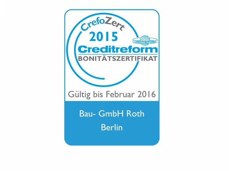 Roth | Creditreform, Crefozert, Zertifikat, Logo
