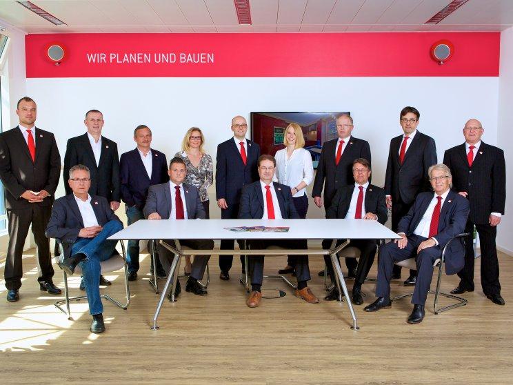 Roth Massivhaus | Standort: Niederlassung Hamburg, Team Verkaufsberater