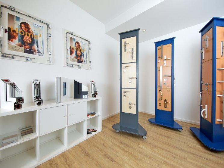 Roth Massivhaus | Standort: Niederlassung Hamburg, Bemusterung und Ausstellung: Türgriffe