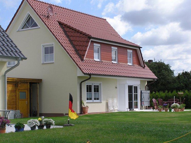 Einfamilienhäuser | Landhaus 156, Seitenansicht