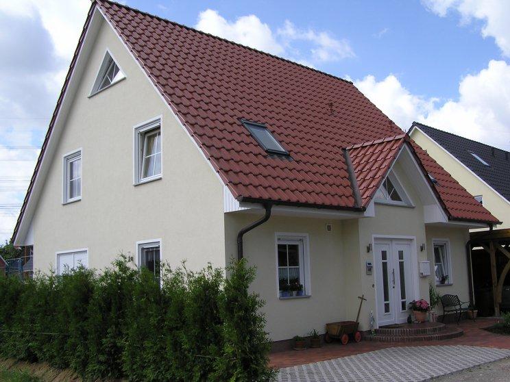 Einfamilienhäuser | Landhaus 156, Frontansicht