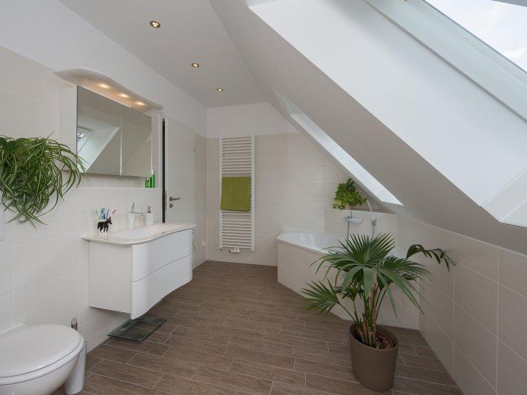 Einfamilienhäuser | Haus Wismar, Innenaufnahme Badezimmer