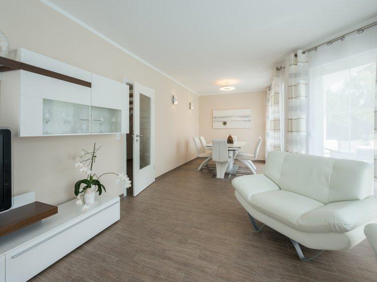 Einfamilienhäuser | Haus Wismar, Innenaufnahme Wohnzimmer