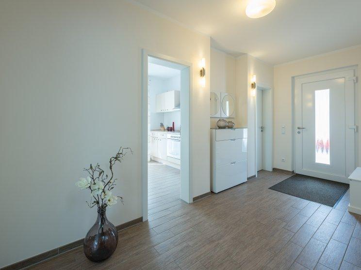 Einfamilienhäuser | Haus Wismar, Innenaufnahme Eingangsbereich