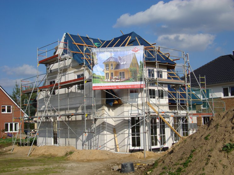 Einfamilienhäuser | Turmhaus 152, Baustelle