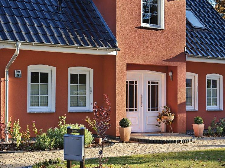 Einfamilienhäuser | Stadthaus 141 (Putzfassade), Haustür