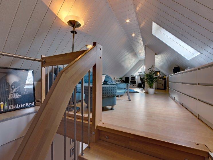 Einfamilienhäuser | Turmhaus 152, Spitzbodenimpression