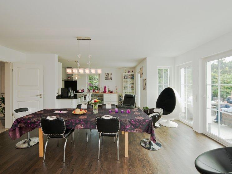 Exklusive Häuser | Haus Föhr 158 (Innenansicht, Wohnzimmer)
