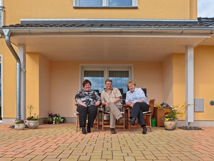 Mehrfamilienhäuser | Freie Planung (Putzfassade), Terrasse